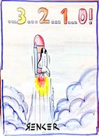 Plakat - Renker - Rakete